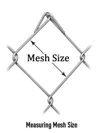 MESH SIZE:  25*25MM / 40*40MM/ 50*50MM / 60*60mm / 70*70mm