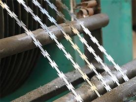 Razor Wire Stamping