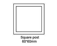 B Square Post