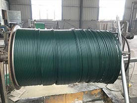 PVC Coated Chain Link Fence Steel Wire