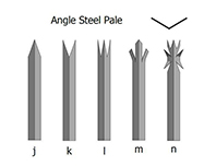 Palisade Fencing Angle Steel Pale